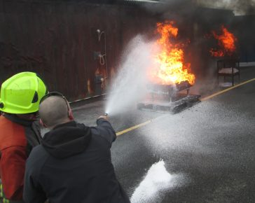 Maritime Fire Training
